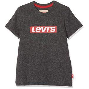 Levi's T-shirt enfant nm10327 supertee Gris - Taille 12 ans,16 ans