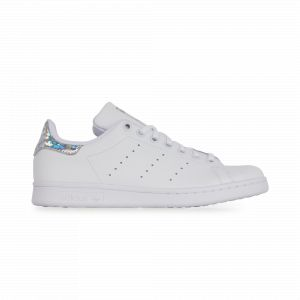 Adidas Stan Smith J, Sneakers Basses Femme, Multicolore FTWR White/Core Black Ee8483, 38 EU