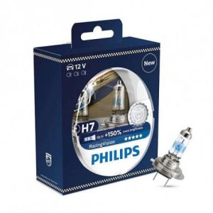 H.Koenig 2 Ampoules PHILIPS H7 RacingVision 12 V