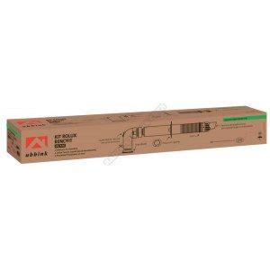 Ubbink Terminal horizontal Rolux Renofit 60/100 avec coude 60/100 Réf.229411