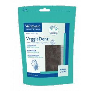 Virbac VeggieDent - Lamelles dentaires anti-plaque pour chien
