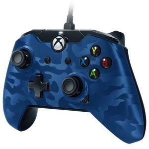PDP Manette Xbox One filaire Bleue camouflage