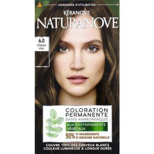 Kéranove Naturanove Coloration permanente aux Phytopigments Végétaux Nuance Châtain Clair 6.0