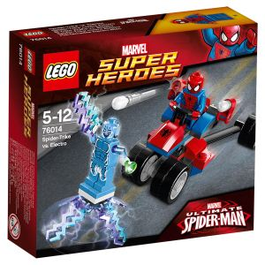 Lego 76014 - Super Heroes : Marvel Comics - Spider-Trike vs. Electro