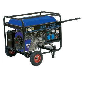 MasterFlash 5600 - Groupe électrogène 5500W essence 4 temps avec chariot