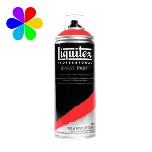 Liquitex Peinture acrylique en spray 400 ml 5151 - Rouge De Cadmium Moyen 5 Imit