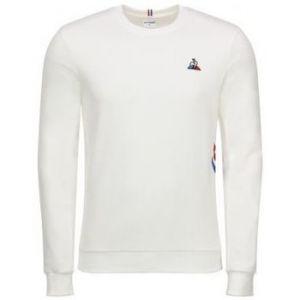 Le Coq Sportif Pull Sweat blanc Tricolore N 2 blanc - Taille EU XXL,EU S,EU M,EU L,EU XL,EU XS
