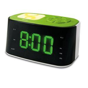 Metronic Gulli Radio-réveil USB