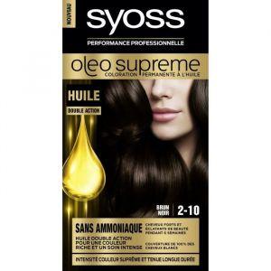 Syoss Oléo Suprême 2-10 Brun Noir - Coloration permanente à l'huile