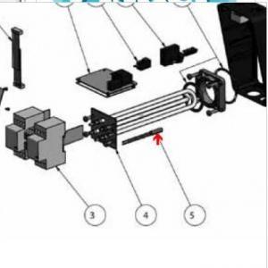 9382105 - Sonde de température de réchauffeur Aqua-Line