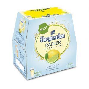 Hoegaarden Bière Lemon - Le pack de 6 bouteilles de 25cl
