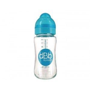 dBb Remond Biberon verre col large ouverture tétine silicone 240 ml