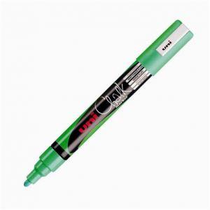 Uni Ball PWE-5M V FLUO - Marqueur craie Chalk, pointe conique 1,8-2,5 mm, vert fluo