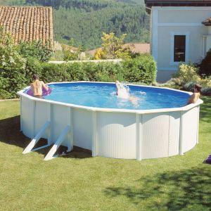 Gre KIT610ECO - Piscine Fidji ovale hors sol en acier 610 x 375 x 120 cm