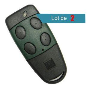 Cardin Télécommande S449TX4 et S449 QZ4 433 MHZ Pack de 2