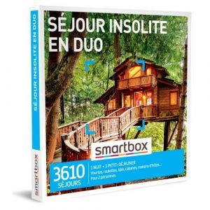 Smartbox Coffret cadeau Séjour insolite en duo