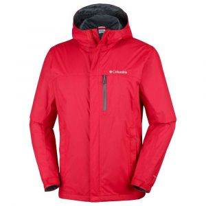 Columbia Vestes Pouring Adventure Ii - Mountain Red - Taille M