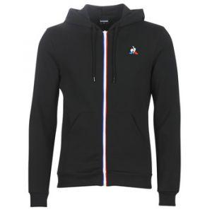 Le Coq Sportif ESS FZ Hoody N°2 M Joggings & Survêtements Hommes Noir - S - Vestes de survêtement