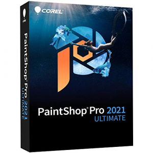 PaintShop Pro 2021 Ultimate Mini Box - 1 utilisateur - Version mini boîte [Windows]