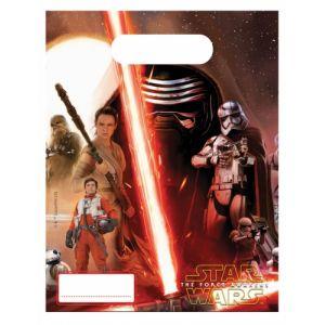 6 sacs cadeaux Star Wars VII