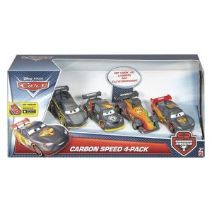 Mattel Coffret 4 Carbone Racers Cars
