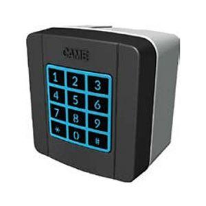 Came SELT1W8G sélecteur clavier externe digicode sans fil - 868 Mhz rétro-éclairé
