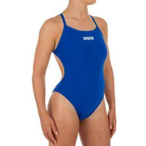 Arena Solid Lightech High Swimsuit dark blue (2A243-82)