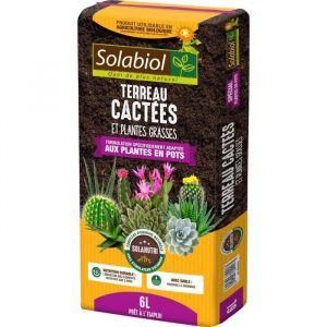 Solabiol Terreau pour Cactées et Plantes Grasses 6L
