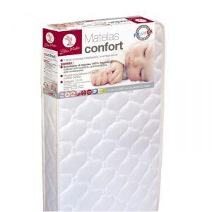 Lilou miaka lmk532503 matelas confort 60 x 120 x 12 cm 1 drap housse co - Dessus de matelas confort ...