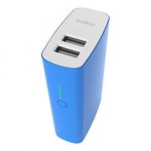 Belkin Batterie Externe 4000 mAh pour smartphones et tablettes - Bleu