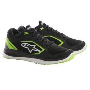 Alpinestars Baskets Alloy noir/vert - US-7.5