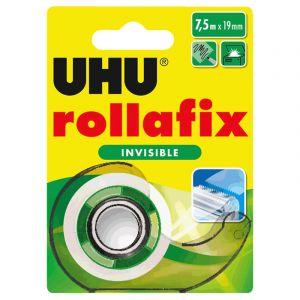 UHU Rollafix Dévidoir + Ruban Invisible - 7.5 m