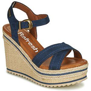 Refresh Sandales LOCKI bleu - Taille 36,37,38,39,40,41
