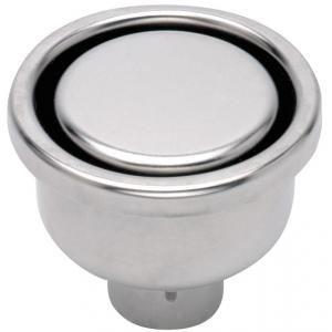 Limatec 1040CF - Siphon de sol inox 100x100 DN40 circulaire inviolable sortie vertical