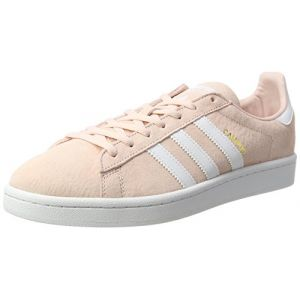 Adidas Campus, Baskets Basses Femme, Rose (Iced Pink/Footwear White/Rose CR Y St A L White), 40 2/3 EU
