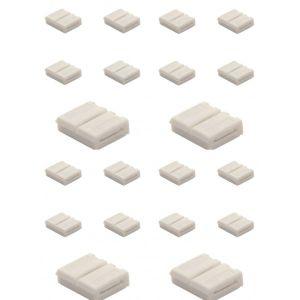 Kanlux Connecteur bandeau LED pack de 20 -