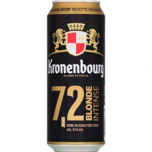 Kronenbourg Bière blonde, 7,2 %vol. - La canette de 50cl