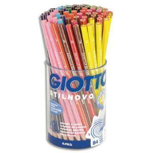 Giotto Pot de 84 crayons de couleur Stilnovo assorties