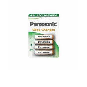 Panasonic 4 accus Stay Charged type AA Mignon