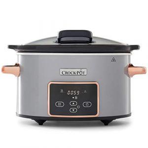 Crock-Pot CSC059X-01 - Mijoteur Argent & cuivre