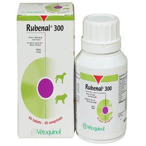 Vetoquinol Rubenal 300 - Compléments insuffisance rénale pour chiens et chats