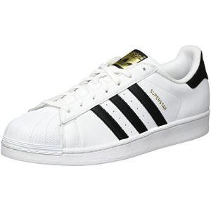 Adidas Originals Superstar, Baskets Basses Homme - Blanc (FTWR White/Core Black/FTWR White) - 45 1/3 EU