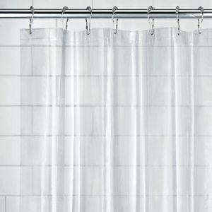 InterDesign Rideau de douche peva - 180x200 cm - transparent - Rideau de douche