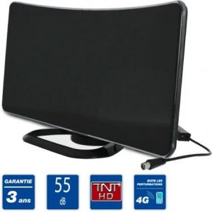 sedea antenne interieure tnt hd curve amplifi e 55db comparer avec. Black Bedroom Furniture Sets. Home Design Ideas