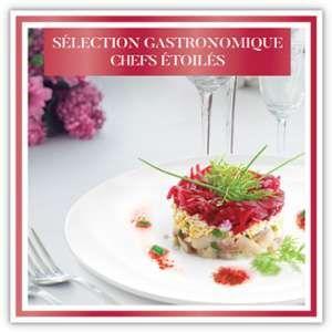 Smartbox Sélection gastronomique Chefs étoilés - Coffret cadeau