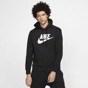 Nike Sweatà capuche à motif Sportswear Club Fleece pour Homme - Noir - Taille M