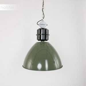 Steinhauer Suspension vert olive Frisk en design industriel