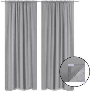 Double rideau gris - Comparer 184 offres