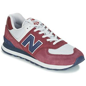 New Balance Baskets basses 574 rouge - Taille 37,38,42,43,44,45,40 1/2,42 1/2,46 1/2,41 1/2,44 1/2,45 1/2,47 1/2