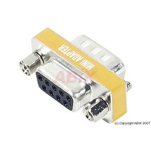 086090 - Mini Adaptateur Null Modem DB9 M/F
